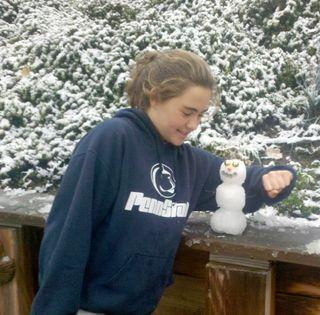 Anya-snowmen