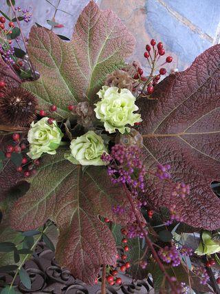 Autumn bouquet by Debra Prinzing