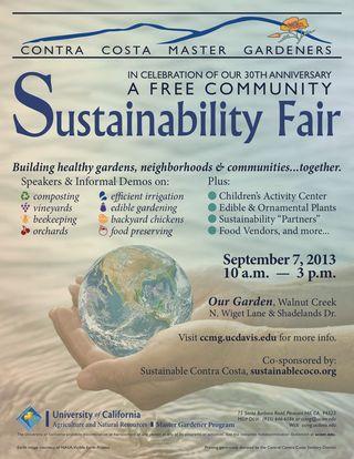 Sustainability Fair Flier