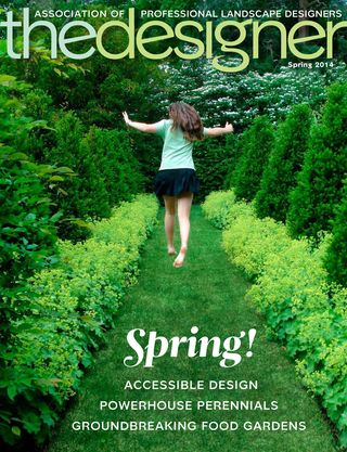 APLD The Designer Cover Spring 2014
