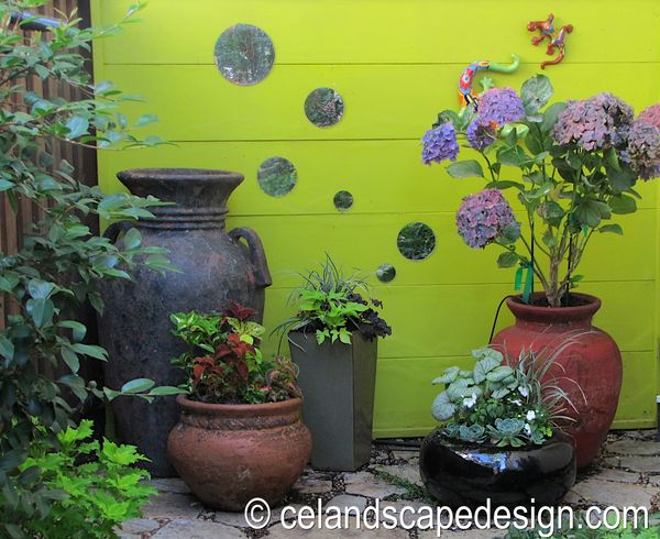Blue planet garden blog small space garden design welcome to my garden - Garden small space minimalist ...