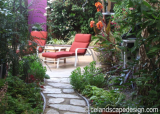 Small Space Garden Design 1